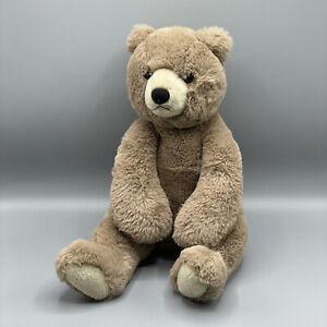 """Aurora 17"""" Teddy Bear Brown Mocha 2019 Soft Cuddly"""