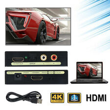 1080P HDMI to HDMI Audio Converter Extractor Optical SPDIF Splitter USB Cable UK