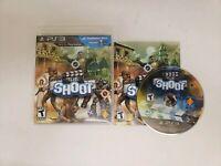 THE SHOOT Playstation 3 PS3 Complete CIB w/ Box, Manual Good