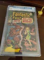 "FANTASTIC FOUR #66 CGC 8.0 * 1st ORIGIN OF ""HIM"" ADAM WARLOCK TO BE !!"
