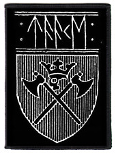 TAAKE patch Shield écusson ♫ Extreme Metal ♪ Norwegian Black Metal ♫ Hoest ♪