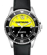 Dortmund Geschenk Artikel Fan Uhr - L2753