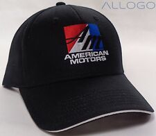 Hat Cap Licensed American Motors AMC Black HR 233