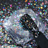 Colorful Holo Nail Glitter Hexagon Flakes Stripe Sequins Paillette BORN PRETTY