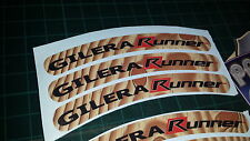 GILERA Runner Rim cinta rueda Pegatinas exclusivo 50, 125. 172, 180 183 Sp Vx St J