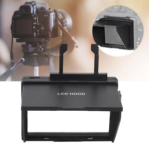 LCD Screen Sun Shade Pop‑up Digital Camera Lens Sun Cover Protector for Canon 6D