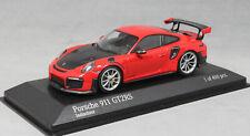 Minichamps Porsche 911 991 Gen 2 GT2RS GT2 RS in Indian Red 410067238 1/43 NEW