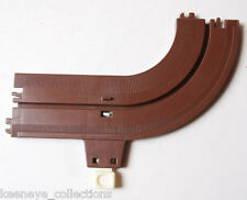 Tomy Big Loader Brown Track Curve Reverser Piece - 1977 Singapore - USED A006 A1