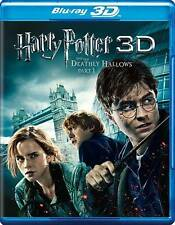 Harry Potter,the Deathly Hallows, Part 1(3 D Blu-ray + DVD)+DCopy Code +Case