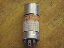 Ge Alumalytic Can Capacitor Nos Xc4-10.2 See pics for Values