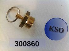 Entwässerungsventil für Druckluftkessel, Druckluftbehälter DIN 74292 M 22x1,5