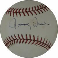 Tommy Davis Hand Signed Autographed Major League Baseball Los Angeles Dodgers 29