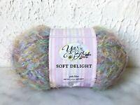 Yarn Bee Soft Delight Light Weight Yarn - 1 Skein Pale Blue #1105
