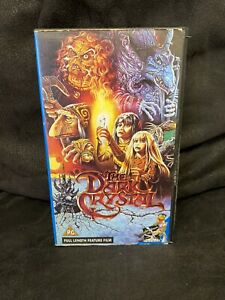 The Dark Crystal Full Feature Length Film. VHS Video Tape.