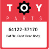 64122-37170 Toyota Baffle, dust rear body 6412237170, New Genuine OEM Part