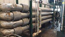 "Plug Flow Reactor, 243' Long, 8"" S40 CS Pipe, Biodiesel / Chemical Reactor"
