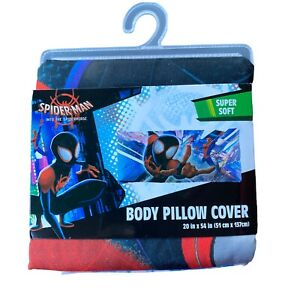 """Spiderman Spiderverse Body Pillow Cover Body Pillow Cover SUPER SOFT 20 """" X 54 """""""