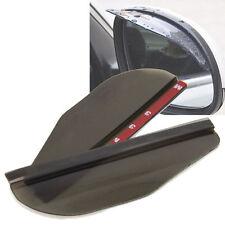 AUTO porte a specchio colorate Visiera Per Pioggia Neve Protezione Abbagliamento X 2 si adatta alla maggior parte dei modelli