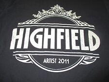 2011 Foo Fighters Highfield (Sm) Shirt Thirty Seconds To Mars Dropkick Murphy's