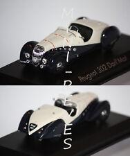 Norev Peugeot 302 Darl'Mat 1937 Bleu/Beige 1/43 473204
