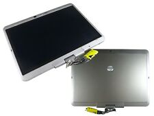 """NEW 12.1"""" LED TOUCH LCD PANEL ASSEMBLY FOR HP ELITEBOOK 2740P COMPLETE SILVER"""