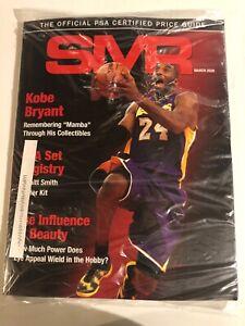 March 2020 SMR Sports Market Report PSA/DNA Guide, Kobe Bryant, New Sealed