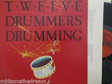 TWELVE DRUMMERS DRUMMING - VINYL LP GERMAN PRESS