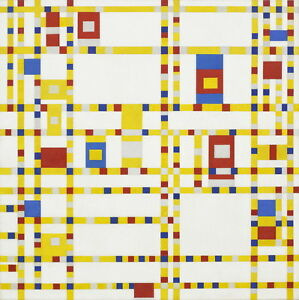 Piet Mondrian Untitled Giclee Canvas Print Paintings Poster Reproduction Copy