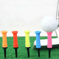 1PC Golf Elastic Tee soft rubber elastic ball nail limit resistance ball tee NT