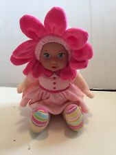 """Adora Baby Doll Vinyl Face Flower Bloom Removable Hoodie 10"""" Charisma Brands"""
