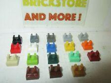 Lego - Plate Plaque Tile 1x1 Clip 2555 - Choose Color and Quantity
