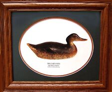 Mason Hen Mallard Premier Grade Duck Decoy Photo Vintage Giclee Reproduction!