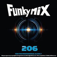 Funkymix 206 CD Ultimix Records Nick Jonas DLOW Nelly Moosh & Twist Chris Brown