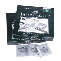 2pcs Faber-Castell Kneadable Drawing Rubber Eraser Pencils Graphic Sketch Art