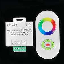USD CONTROLLER RGB LED STRIP TOUCH RF DIMMER COLOR RING DC 12V/-24V 18A WHITE