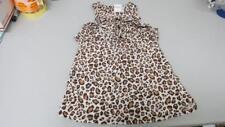 GYMBOREE Parisian Chic Off White Leopard Spotted Jumper Dress Size 7 NEW TL30