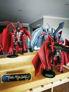 Spawn 3-PACK TRILOGY SET McFarlane Kickstarter Signed! - Preorder Confirmed