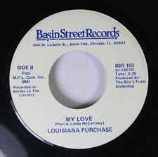 Soul 45 Louisiana Purchase - My Love / Every Time You Go Away On Basin Street Re