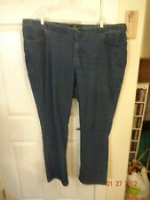 Women's Blue Denim Jeans By Riders size 24W