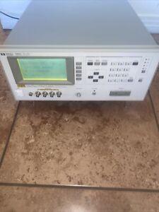Agilent HP Keysight 4284A Precision LCR Meter 20Hz-1MHz w.Opt 001/002/006