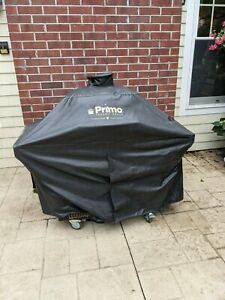 Primo Grill XL with stainless steel cart
