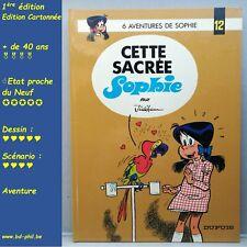 Sophie, 12, Cette sacré Sophie, Jidéhem, Dupuis, EO, 1977, EN, C