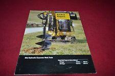 Caterpillar Auguer For Mini Excavator Dealer's Brochure DCPA4