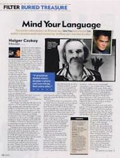 Holger Czukay Can 'Movies' a retrospective Article