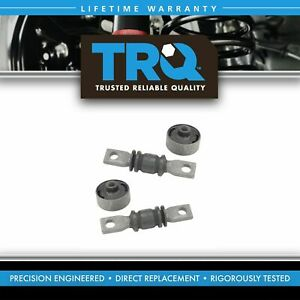 TRQ Control Arm Bushing Kit Front Lower Pair Set for ES300 Avalon Camry Sienna