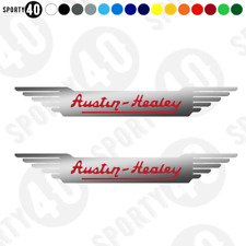 AUSTIN - HEALEY - Vinyl Decals /  Stickers - SILVER - 3109-0219
