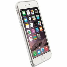 Krusell Sala Lightweight Aluminium Bumper Protecive Case for iPhone 6 7 - Silver