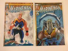 Ian Churchill's Marineman #1 2 Image Comics (2010) VF/NM