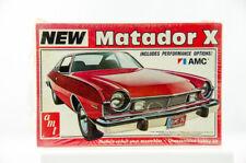 Ultra Rare Factory Sealed AMT New AMC Matador X 1/25 Model Car Kit T467