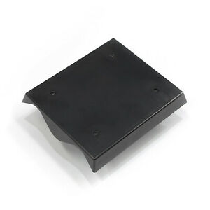 Mounting plates for corrugate iron 2 span, X 10 molded ABS,UV Resistant in Black